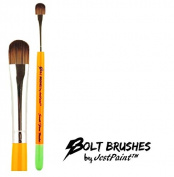 BOLT Face Painting Brushes by Jest Paint - Small FIRM Blender