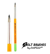 BOLT Face Painting Brushes by Jest Paint - Small FIRM Blooming Brush