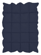 Navy Blue Baby Down Alternative Comforter / Blanket for Crib Bedding