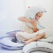 EITC Luminous Moon Cushion Toys for Baby Bedroom Pillow Light Kid Placate Pillow