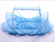 SINOTOP Baby Crib Mosquito Ded Portable for Travel, Baby Bed Folding Baby Mosquito Net Portable Baby Cots for 0-18 Month Baby