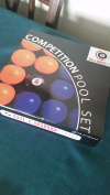 Competition Pool Set Blue + Yellow Balls