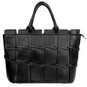 Vangas Genuine Leather Satchel Bag Scarlet