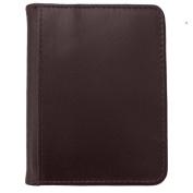 DJNY Gunine Leather RFID Bifold Credit Card Holder
