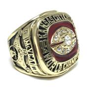 Kansas City Chiefs Super Bowl IV 1969 Ring sz 11 Warren Mcvea
