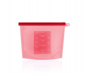 Reusable Silicone Food Storage Bag ,Versatile Cooking Bag Food Storage Containers 1 Litre