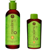 Macadamia Oil Leave-In Conditioner 250ml and Hydrating Macadamia Oil Treatment 60ml Variety Pack