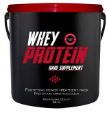 Whey Protein Hair Supplement Fortifying Power Treatment Mask Paraben Free Professional Quality - 2600ml