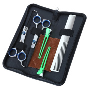 BeautyGal Professional Salon Hairdressing Scissors Barber Hair Cutting Shears Thinning & Texturizing Hair Set with Case
