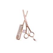 ShearsDirect Scissor/Comb Brooch, Gold, 10ml