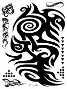 Supperb Tribal Temporary Tattoos - Tribal tattoos