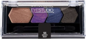 Maybelline New York Silk Eyeshadow Quad, Smokey Night, 5ml by Maybelline