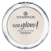 essence Soo Glow! Cream To Powder Highlighter, 10 Look On The Bright Side