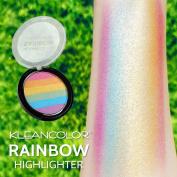 Kleancolor 6 Colour Contour Shading Powder Face Highlighter Rainbow Highlighter