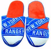 NHL New York Rangers Men's Team Logo Slippers