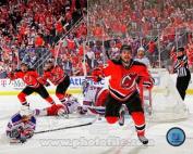 Adam Henrique NJ Devils Overtime Goal Celebration Photo