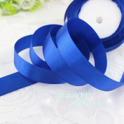 "FunnyPicker (25Yards/Roll) 3/4"" (20Mm) Single Face Satin Ribbon Webbing Decoration Gift Christmas Ribbons Royal Blue"