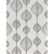 Ultimate Crafts Embossing Folder A2-Screen Of Leaves