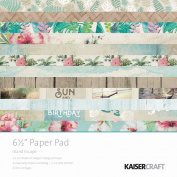 KaiserCraft Island Escape 6.5x6.5 Paper Pad