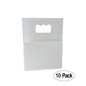 Picture Hangers Adhesive - Plastic Sawtooth Adhesive Picture Hangers - Foamboard Hanger - 10 Pack