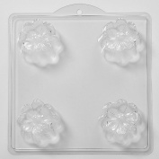 4 Cavity Daisy Flower Soap/Bath Bomb Mould Mould M10 x 5