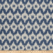 French General Flamme De France Woven Indigo Fabric By The Yard