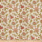 Charlotte Moss Prato Linen Coral Fabric By The Yard