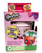Shopkins Easter Egg Dye Decorating Kit with Eco Friendly Paper Dipping Cups
