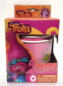 Dreamworks Trolls Easter Egg Dye Decorating Kit with Eco Friendly Paper Dipping Cups