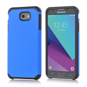Galaxy J3 Emerge Case, Asster Hybrid Dual Layer [Slim Fit] Shock Absorption Impact Resist Smooth Hard Cover with TPU Skin Cover Case For Samsung Galaxy J3 Emerge / Galaxy J3 (2017)