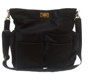 Kate Spade Black Avenue Nylon Baby Nappy Bag - Black