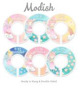 Modish Labels Baby Nursery Closet Dividers, Closet Organisers, Nursery Decor, Baby Girl, Fairy Princess, Fairy Tale