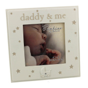 Oaktree Gifts Daddy & Me Resin Photo Frame 4 x 4