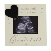 Oaktree Gifts Baby Countdown Scan Photo Frame 4 x 3