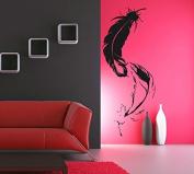 Wall Vinyl Sticker Decals Mural Room Design Decor Art Feathers Bird Modern Bedroom bo2409