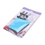 Cake Decorating Bake Tool Silicone Icing Piping Cream Pastry Bag 6Pcs Nozzle Set