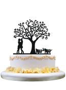 Lesbian Mrs & Mrs wedding cake topper