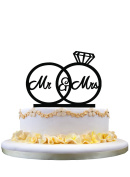 Couple(Bride and Groom) wedding anniversary cake topper