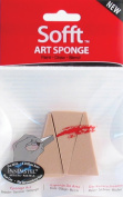 Panpastel Sofft Art Sponges 3/Pkg-Wedge