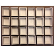 DayBook Studio Empty Watercolour Paint Pans - 24 Pans
