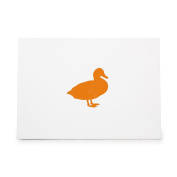Duck Fly Flight Duckling Bird Style 9580, Rubber Stamp Shape great for Scrapbooking, Crafts, Card Making, Ink Stamping Crafts