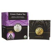 Organic Crown Chakra Tea - Kosher, Caffeine Free, GMO-Free - 18 Bleach Free Tea Bags