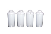 Sapphire Replacement Water Filters, for Sapphire, Brita and Pur Pitchers, 4-Pack