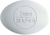 Maped Epure Oval Eraser, Pack of 15