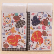 Cute bear club heart spade diamond eraser from Japan