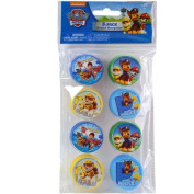 Paw Patrol 8pk Round Sharpeners in Poly Bag with Header