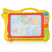 Magnetic Drawing Board, 33cm Drawing Area Colourful Magna Doodle for Kid Learning