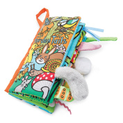 Jellycat Soft Cloth Books, Garden Tails