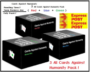 EXPRESS COURIER | Cards Against Humanity All set of Newest Expansions (