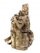 East West U.S.A RTC525 Tactical Molle Assault Sling Shoulder Cross Body One Strap Backpack